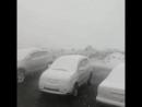 Снег в Норильске. 20.07.2018