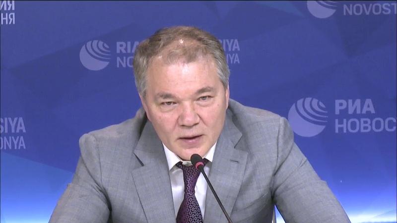 Видеомост Москва-Баку на тему азербайджано-российских отношений