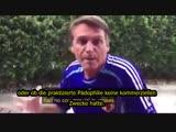 Brasiliens Präsident Bolsonaro über Pädo-Propaganda an den Schulen - Deutsche Untertitel