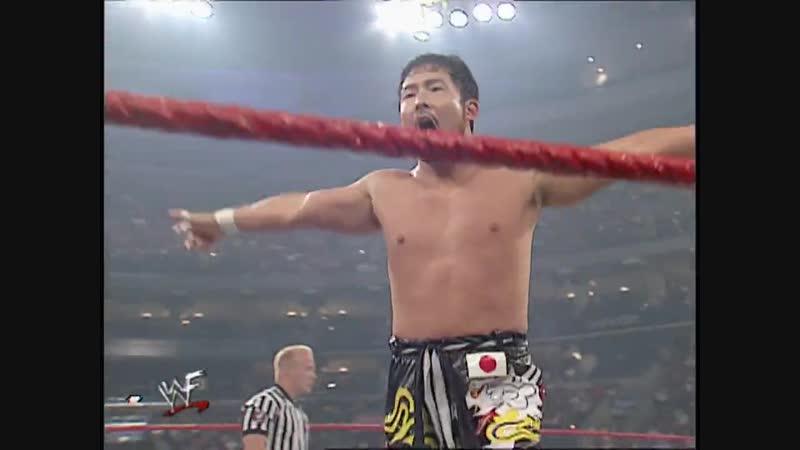 RVD Vs Tajiri Hardcore Championship Hardcore Match RAW 30 07 2001 смотреть онлайн без регистрации