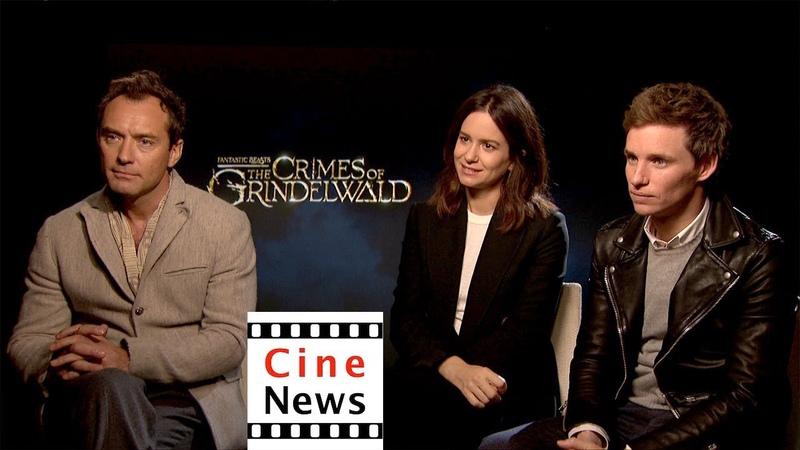 Grindelwalds Verbrechen – Interview: Jude Law, Katherine Waterston Eddie Redmayne