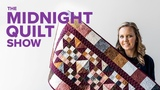 Stash Busting Quilted Table Runner! S7E6 Midnight Quilt Show with Angela Walters