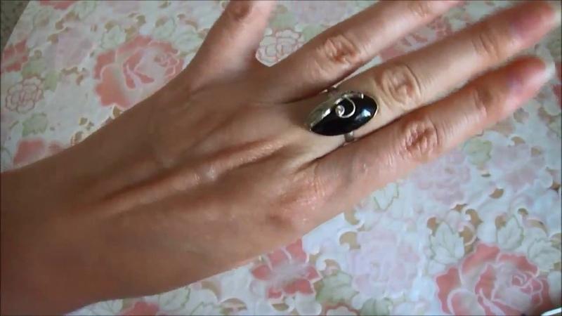 Кольцо с Турмалином (Шерл)/Украшение на продажу
