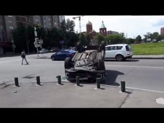 Перевёрнутый Каптюр Делимобиль