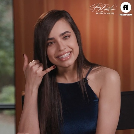 """Pretty Little Liars on Instagram: """"Superfan turned Pretty Little Liar. Welcome, @SofiaCarson. PLLThePerfectionists"""""""