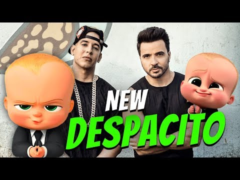 DESPACITO - The Boss Baby | Luis Fonsi and Daddy Yankee | Funny Animation | Dancing baby | Minions