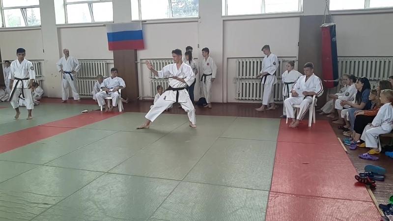 Открытый турнир по каратэ до КАТА 20 05 2018г