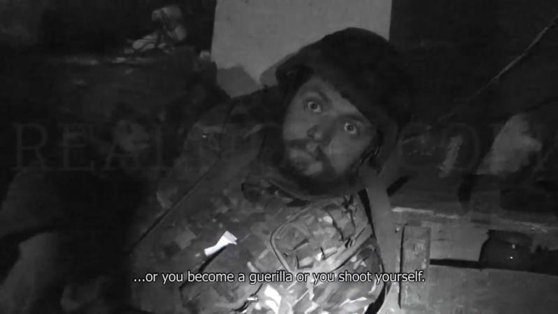 Мирный ВСУшник о не мирных жителях Донбасса
