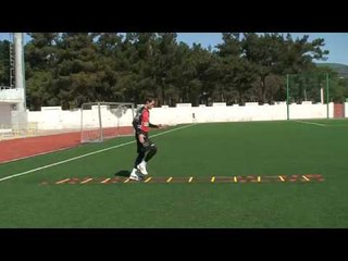 Football coaching video - soccer drill - ladder coordination (Brazil) 18