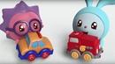 Малышарики Машинка серия 12 обучающие мультфильмы для малышей 0 4