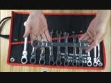 Набор комбинированных гаечных ключей