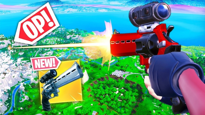 *NEW* SCOPED REVOLVER BEST PLAYS!! - Fortnite Funny WTF Fails and Daily Best Moments Ep. 873