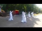 Новый танец! Девичий армянский танец невесты в парке Белинского на день города. Чегет Пенза