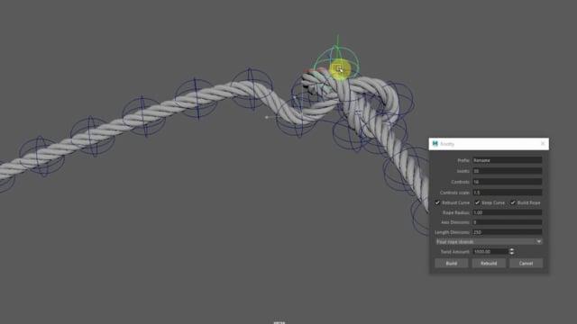 Knotty python script