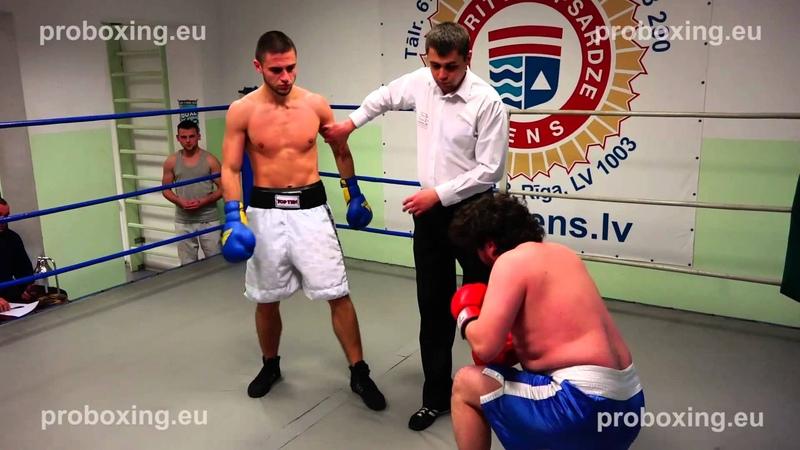 Dmitrijs Odinokijs (Latvia) VS Dmitrijs Avsijenkovs (Latvia) 15.11.2014 proboxing.eu