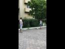 Джубга Исмаил сам проявил инициативу поиграть с детьми.