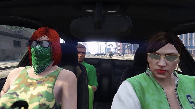 GTA Online видео со сходки на PC