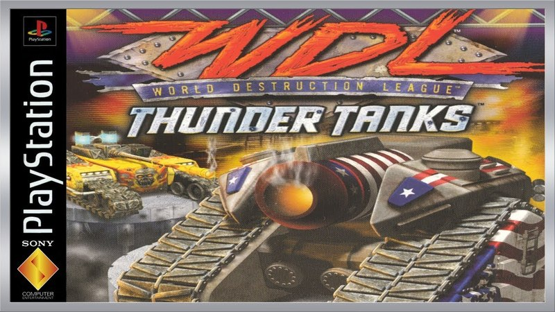 World Destruction League - Thunder Tanks PSOne ПРОСТО ПОИГРАЕМ