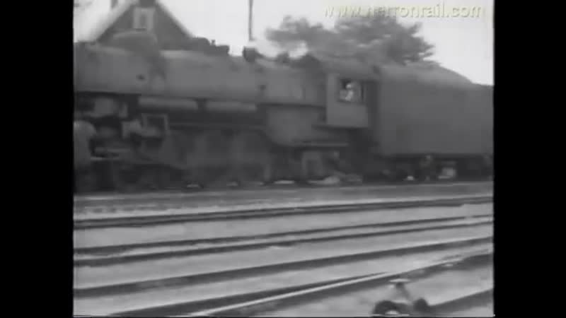 Fostoria Ohio Steam Trains from the mid 1950s (Show 4 of 7)