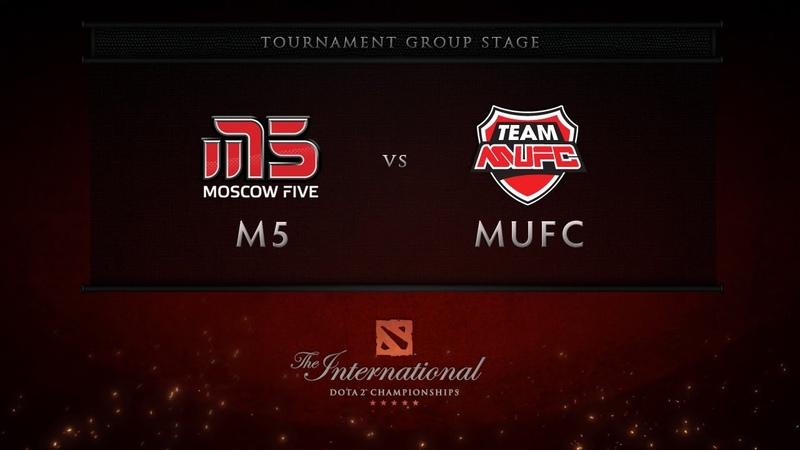 M5 vs MUFC - Group Stage - Dota 2 International