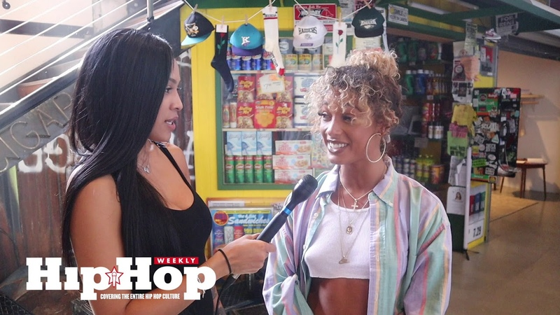 [HHW ON SCENE] Hanging Out w/ DaniLeigh at the Lil' Bebe Video Shoot behindthescenes