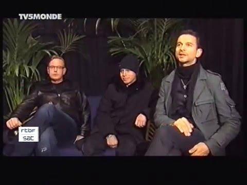 Depeche Mode : Intw live in Antwerp 30.01.2006