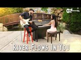 Yiruma - River Flows In You - Electric Guitar &amp Piano Cover by Kfir Ochaion feat. Yuval Salomon