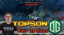 WINNER TEA EYE - TOPSON НА TINY / KDA 29-2-9