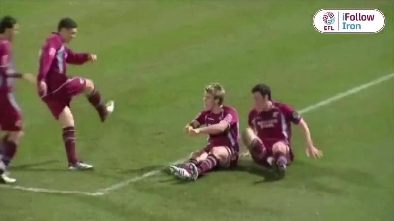 Гол Кевана Херста в ворота Херефорд Юнайтед (сезон 2008/09)