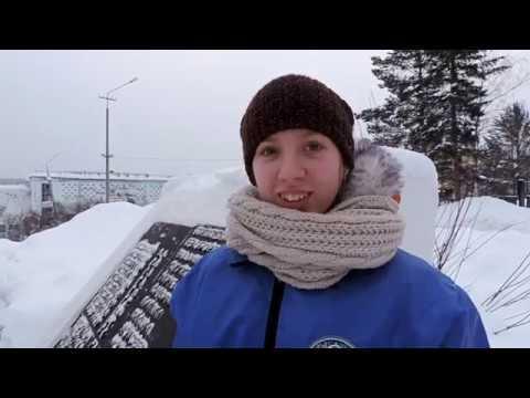 Железногорск-Илимский. Снежный десант.
