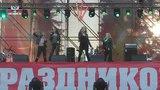 Выполняя поручение Главы Республики. В Донецке состоялся концерт российских групп Градусы, Блестящие и Марка Тишмана