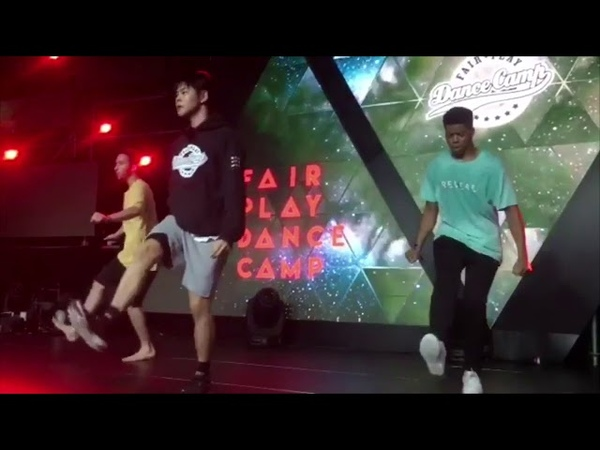 """Sean Lew at FairPlay Dance Camp 2018 