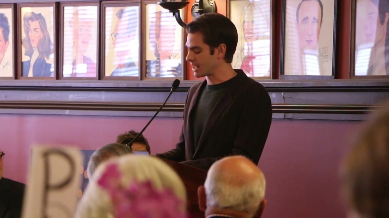 Inside the Outer Critic Luncheon With Andrew Garfield and Lauren Ambrose