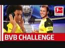 Axel Witsel vs Mario Götze Borussia Dortmunds Whisper Challenge