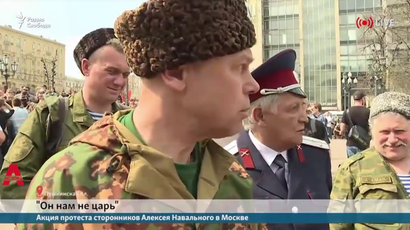 Засланные казачки и НОДовцы - провокации на Пушкинской в Москве