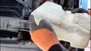 Течь бачка омывателя, снимаю для ремонта 1часть на Land Rover Discovery 3 Ленд Ровер Дискавери 3