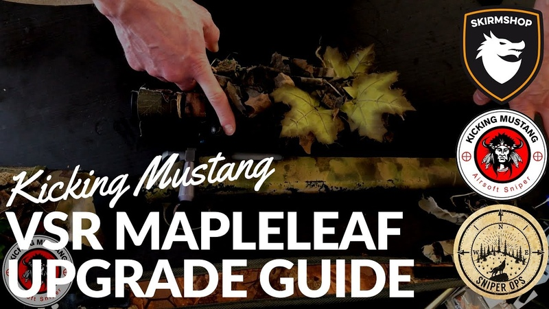 Mapleleaf Bull Barrel Suppressor VSR Sniper Upgrade Guide