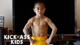 Meet The Mini Bruce Lee KICK-ASS KIDS