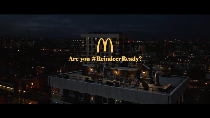 McDonald's UK Christmas 2018 TV Advert ReindeerReady