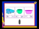 Kindergarten phonics worksheet - words with the short vowel 'u' sound