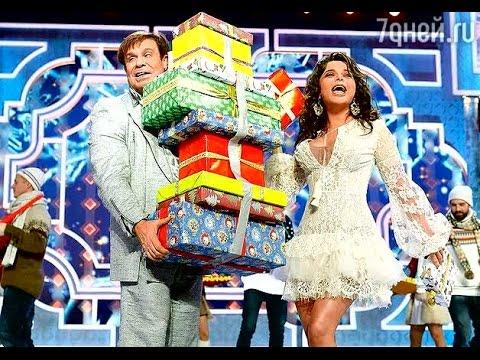 Наташа Королева и Ефим Шифрин Дельфин и русалка про шоппинг Новогодний парад звёзд 2016