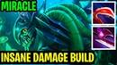 Insane Build Damage Miracle Slark Dota 2