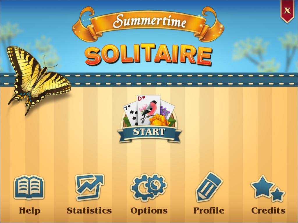 Летний пасьянс | Summertime Solitaire (En)