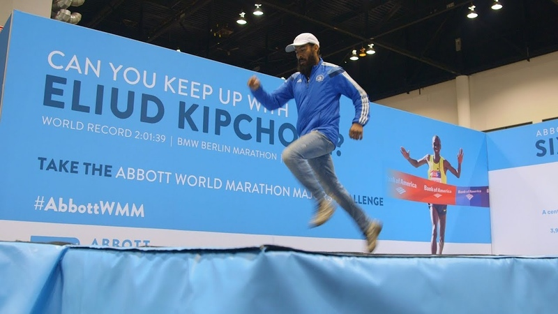 Runners Attempt Eliud Kipchoge's World Record Marathon Pace