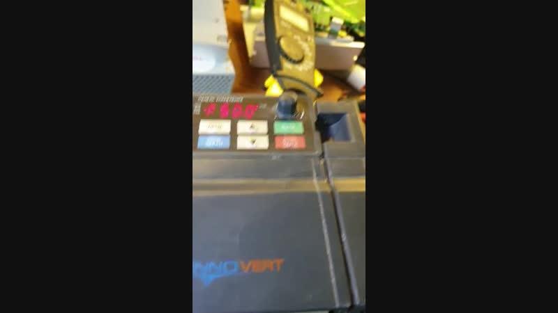 КИПлаб ремонт преобразователя частоты INNOVERT ISD372U21B 3,7 кВт220 В. отчет о выполненной работе