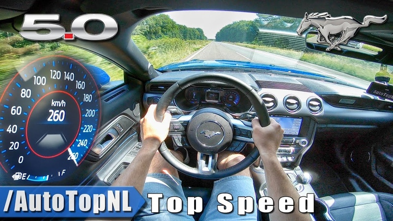 2018 Ford Mustang GT 5.0 V8 | TOP SPEED AUTOBAHN POV by AutoTopNL
