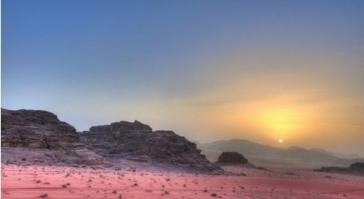 Марс на Земле, как выглядит пустыня Вади Рам?