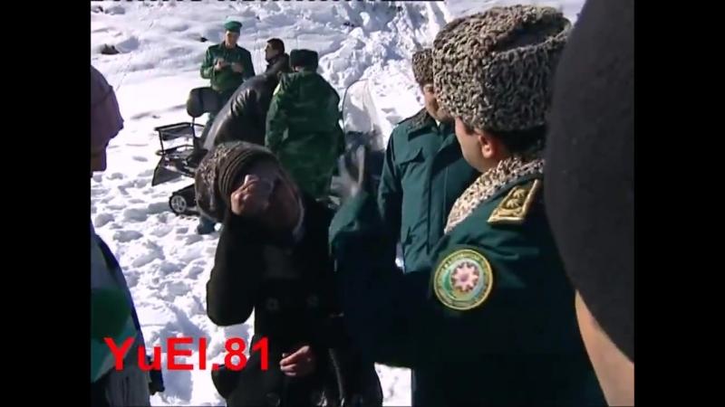 Журналистка Айтекин Алхаслы напугала командующего ГПС Эльчина Гулиева