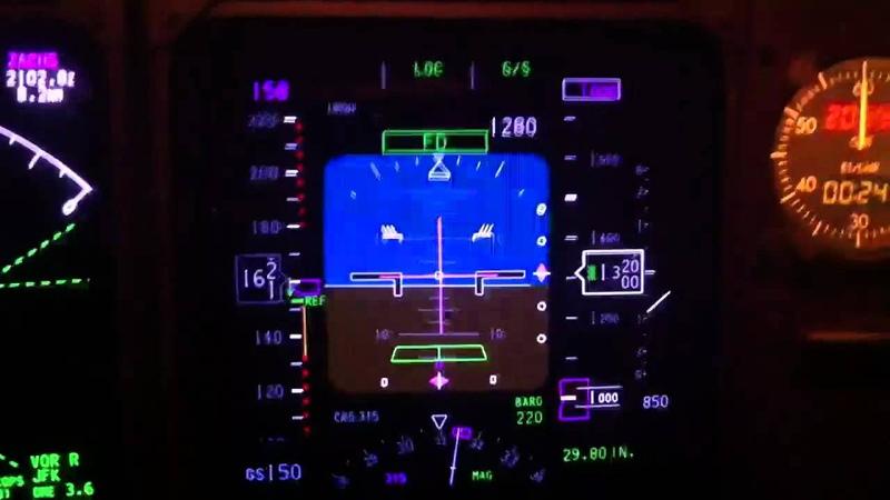 Primary Flight Display 747-400
