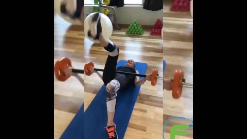 Групповые тренировки с Алесией